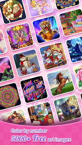Tap Color- Color by Number Art Coloring Game 5.1.0 screenshots 8
