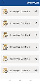 Botany - Notes & Quiz App