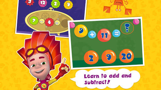 The Fixies Cool Math Learning Games for Kids Pre k 5.1 Screenshots 2