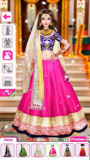 Indian Wedding Stylist - Makeup &  Dress up Games 0.17 screenshots 1