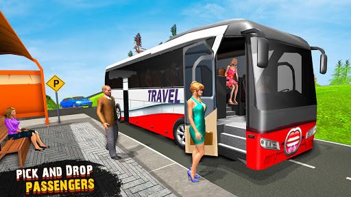 OffRoad Tourist Coach Bus Driving- Free Bus games apktram screenshots 1