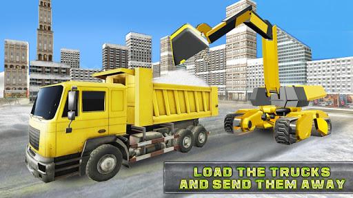 Code Triche vrais jeux de machine de pelle de camion de chasse apk mod screenshots 1