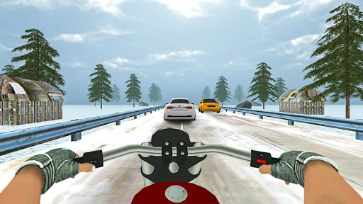 Highway Real Traffic Bike Racer screenshots 16