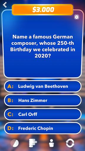 Millionaire 2021 - Trivia & Quiz 1.4 screenshots 1