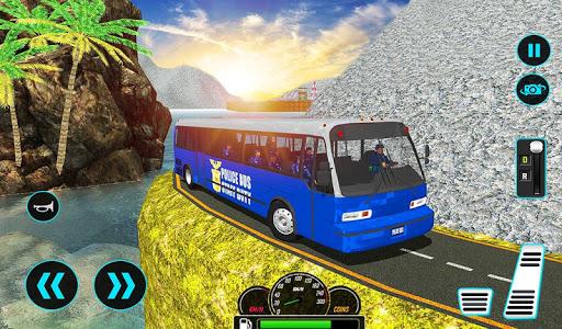 US Police Bus Mountain Driving Simulator  screenshots 12