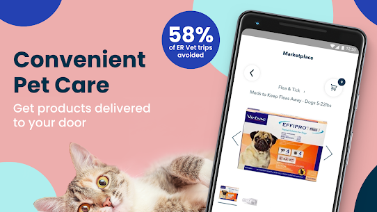Fuzzy  Find Live Vet Support  Care for Your Pets Apk 4