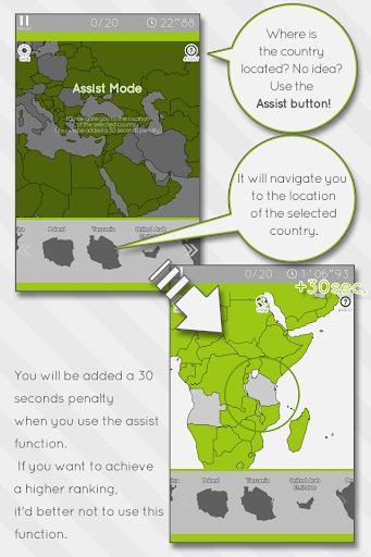 Enjoy Learning World Map Puzzle 3.4.0 screenshots 3
