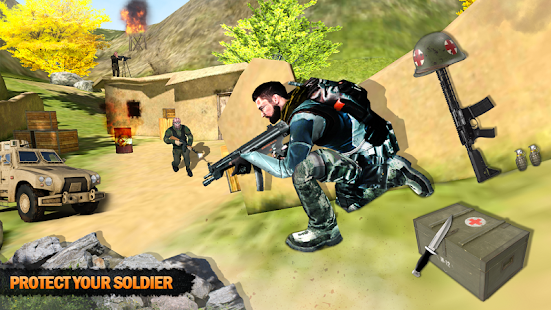 FPS Commando Shooting Gun War Shooting Games 2020 Screenshot