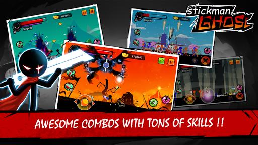 Stickman Ghost: Ninja Warrior  screenshots 13
