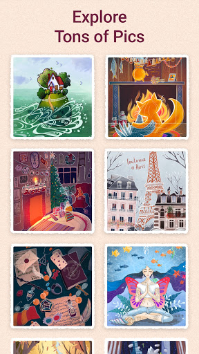 Art Puzzle - Jigsaw Game with Color Pictures  Screenshots 6