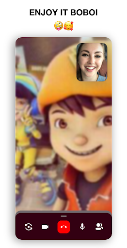 Call From Boboiboyu2122  ud83dudcde Video call and Chat  screenshots 4