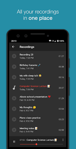 Smart Recorder u2013 High-quality voice recorder apktram screenshots 5