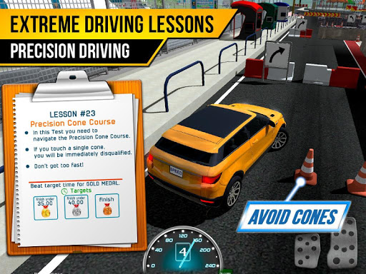 Race Driving License Test 2.1.2 screenshots 10