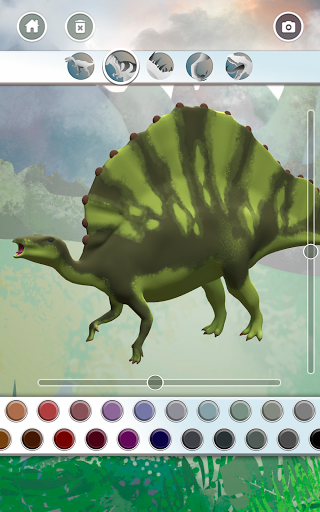 Dinosaurs 3D Coloring Book modavailable screenshots 24