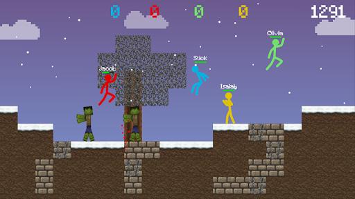 Stickman vs Multicraft: Survival Craft Pocket apklade screenshots 2