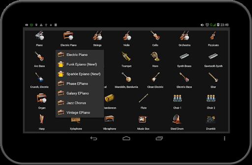 Strings and Piano Keyboard android2mod screenshots 20