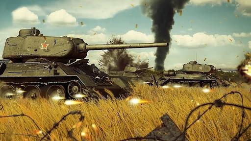 Battle of Tank games: Offline War Machines Games screenshots 3