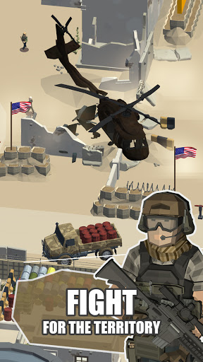 Idle Warzone 3d: Military Game - Army Tycoon screenshots 6