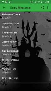 Scary Ringtones and Sounds