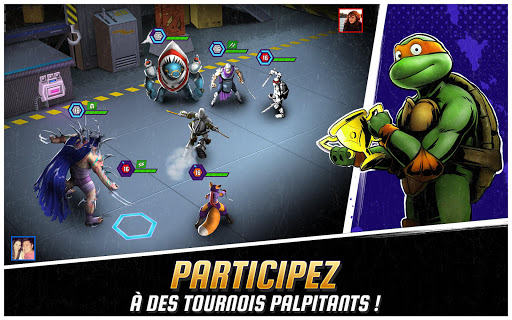 Code Triche Ninja Turtles: Legends (Astuce) APK MOD screenshots 3