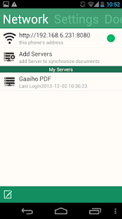 Gaaiho PDF Reader Screenshot