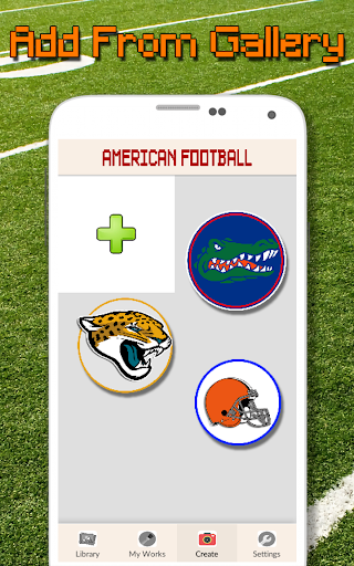 American Football Logo Color By Number - Pixel Art screenshots 8
