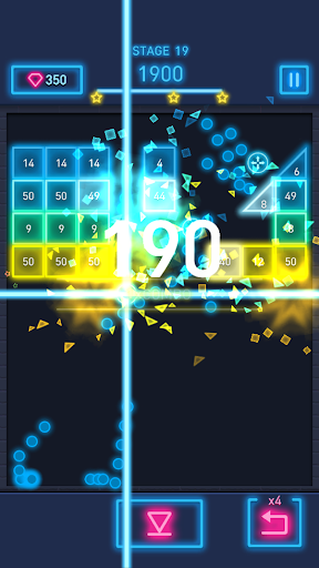 Brick Breaker: Neon-filled hip hop! 1.0.19 screenshots 23