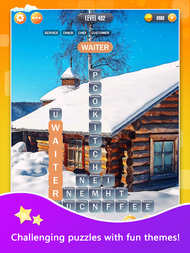 Word Town: Search, find & crush in crossword games  screenshots 8
