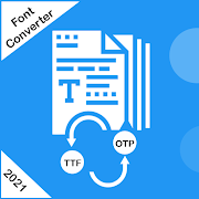Font Converter & Font Viewer :TTF to OTF Converter