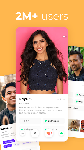 Dil Mil: South Asian singles, dating & marriage 7.17.1 screenshots 2