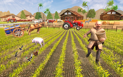 New Milford Tractor Farming Organic SIM Games 2019 apkdebit screenshots 8