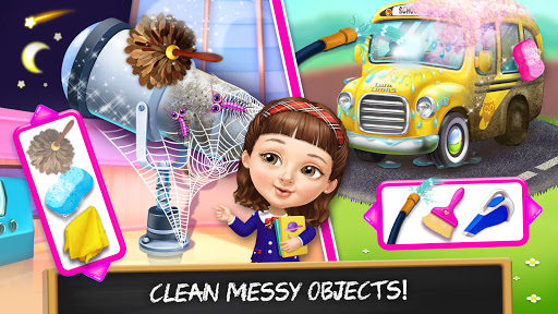 Sweet Baby Girl Cleanup 6 - School Cleaning Game  screenshots 5