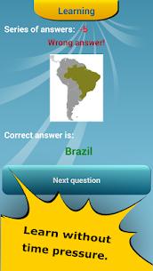 Countries Location Maps Quiz 7