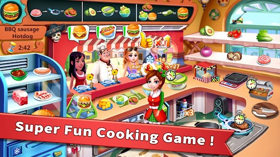 Rising Super Chef - Craze Restaurant Cooking Games Screenshot