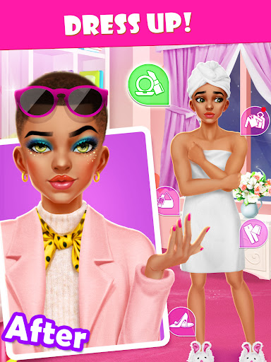 Merge Makeover: Makeup Games for Girls Kids  Pc-softi 14