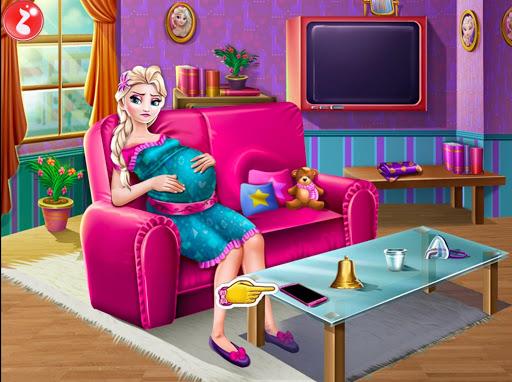 Code Triche Maman enceinte bébé naissance jeux nouveau-nés mam APK MOD (Astuce) screenshots 1