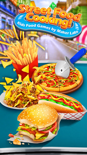Street Food Stand Cooking Game for Girls 1.5 screenshots 1