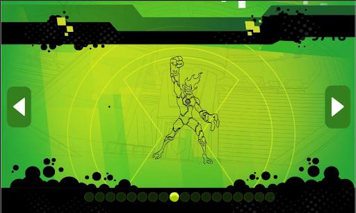 Ben Coloring 10 Heros Ultimate  Screenshots 8