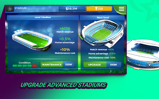 Pro 11 - Football Management Game 1.0.74 Screenshots 8