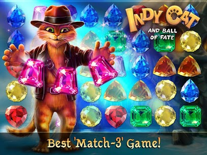 Indy Cat – Match 3 Puzzle Adventure Mod Apk 1.86 (Free Shopping) 8