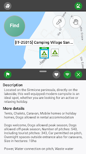 Camping.Info Navi by POIbase Campsites & Pitches
