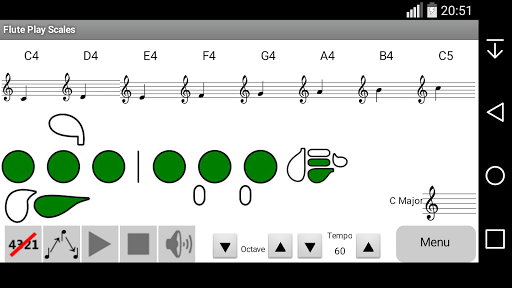 Flute Play Scales Trial For PC Windows (7, 8, 10, 10X) & Mac Computer Image Number- 6
