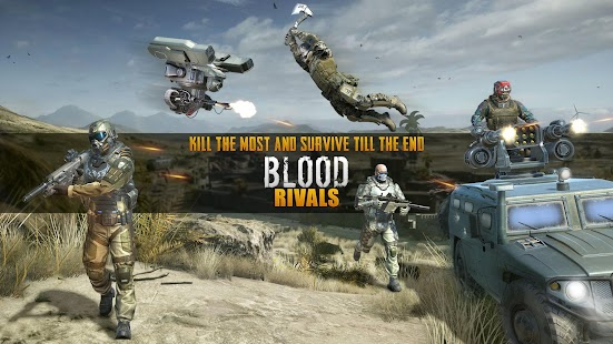 Blood Rivals - Survival Battleground FPS Shooter Screenshot