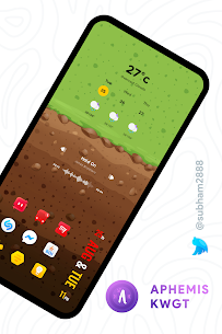 Aphemis KWGT Apk [PAID] for Android 3