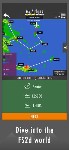 Flight Simulator 2d - realistic sandbox simulation 1.3.2 updownapk 1