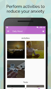 Control and Monitor: Anxiety, Mood and Self-Esteem 2.3.1 Apk 3