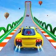 Superhero GT Racing Car Stunts : Ramp Car Games