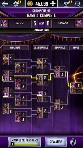 WWE SuperCard - Multiplayer Collector Card Game Apkfinish screenshots 6