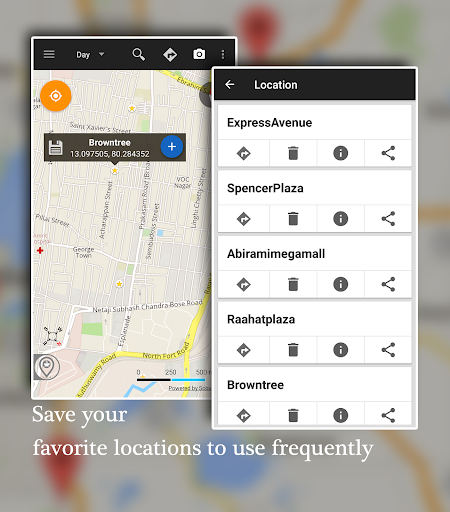 Offline Map Navigation - Live GPS, Locate, Explore 1.3.6.8 Screenshots 6