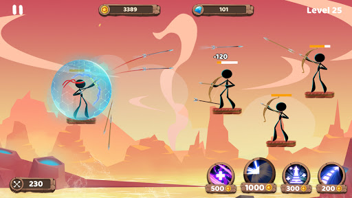 Mr. Archers: Archery game - bow & arrow 1.10.1 screenshots 10